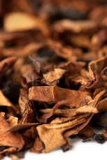 Dried tobacco leaves. Source: colourbox.com