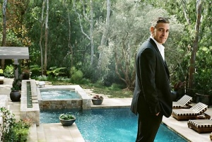 George Clooney. Photographer: Sam Jones for TIME magazine.