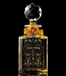 The luxury, limited-edition Phul-Nana Baccarat flacon.