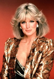 "Linda Evans as ""Krystle Carrington"" in Dynasty. Source: Kootation.com"
