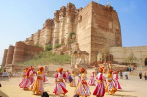 Mehrangarh Fort, Jodhpur. Source: aboutrajasthan.in