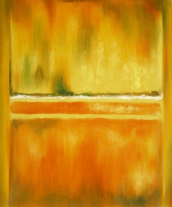 "Mark Rothko, ""No. 14-10 Yellow Greens,"" 1953."