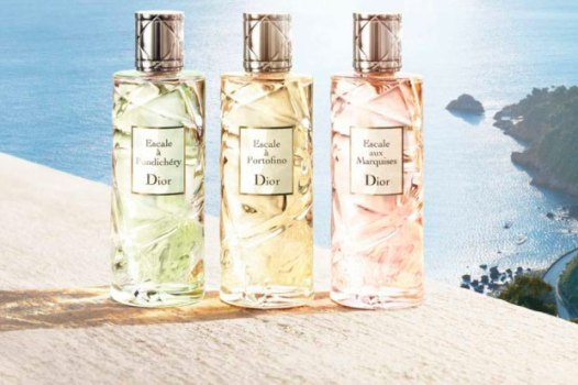 Three of the four Escale fragrances. Source: mujerglobal.com