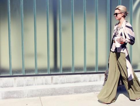 Street Chic Milano. Photo: Marina Ciucholo via Fashion Door with ViewonMagazine.