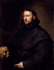 "Anthony van Dyke, ""Portrait of a Monk"" via Wikipaintings.org."