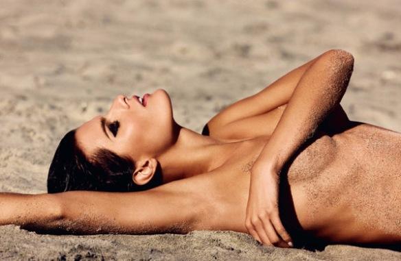 Model Isabeli Fonatana for Muse Magazine via trendhunter.com