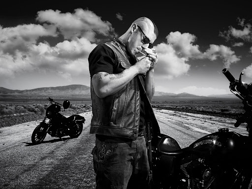 Sons of Anarchy photo via wall321.com.