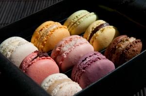 Macarons, Pierre Marcolini, via Wikicommons.