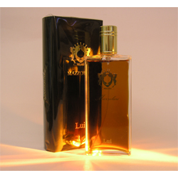 Lui in its black box that opens like a book. Source: The Different Scent company.