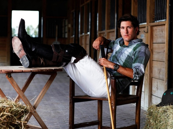 Nic Rolden, polo player, via Horsenation.com