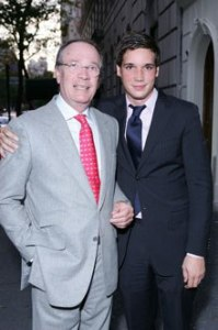 Olivier Creed with son, Erwin. Source: Vanity Fair.