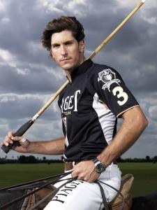 Polo player, Nic Roldan.