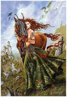 """Epona by """"Brian."""" Original source or site unknown."""