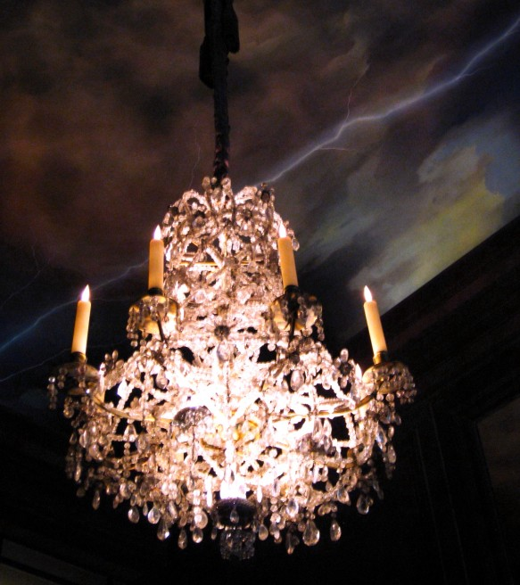 JAR ceiling. Photo: my own.