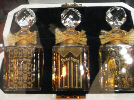 Grossmith's baccarat flacons of the original trio in the line. I'm so sorry about the poor photo quality!