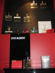 Humiecki & Graef on top, Steve McQueen perfumes on the bottom.
