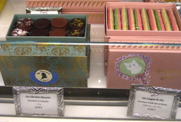 Ladurée chocolate boxes.