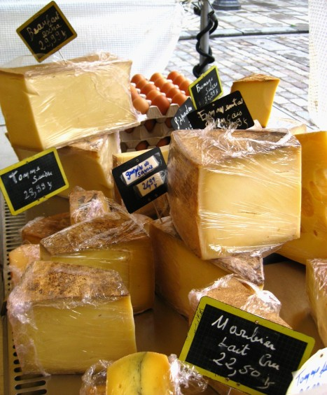 Paris Market Cheese 2