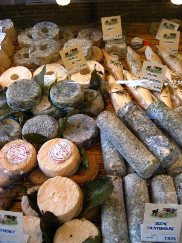 Paris Market Cheeses 1