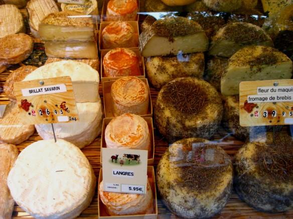 Paris Market Cheeses 2