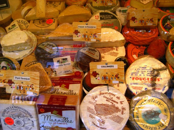 Paris Market Cheeses 3