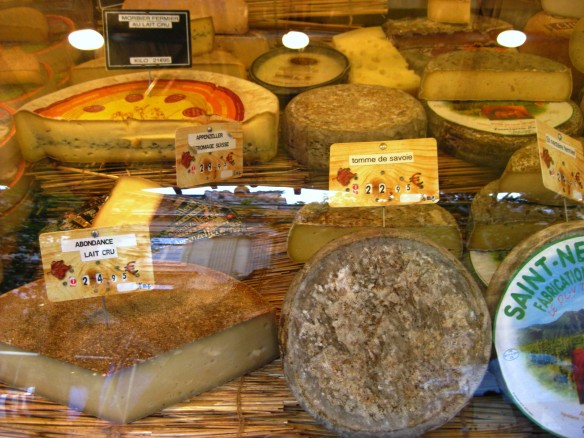 Paris Market Cheeses 4