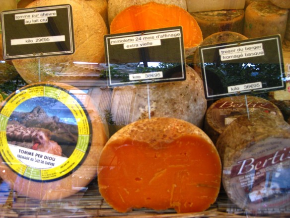 Paris Market Cheeses 5