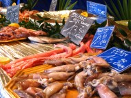 Paris Market Fishmonger 1