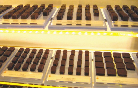 Pierre Hermé chocolates at the St. Germain location.
