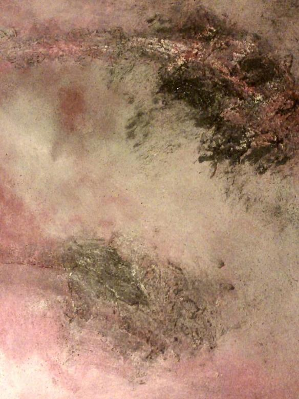 """Pink abstract"" by Montserrat Lopez Ortiz via fineartamerica.com"