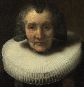 "What made be the other portrait to which he is referring: Rembrandt, ""Portrait of Margaretha de Geer."""