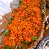 A carrot salad.