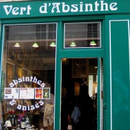 Adorable shop in Le Marais which sold nothing but glasses for Absinthe.