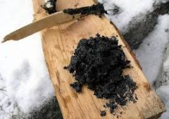 Birch Tar pitch via Wikicommons.