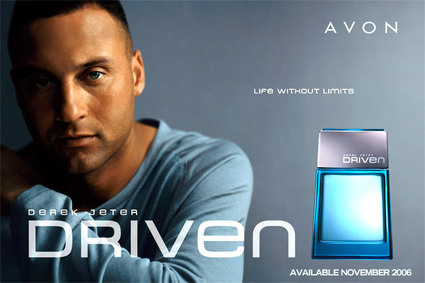 Derek Jeter's ad for his fragrance, Driven, released by Avon.