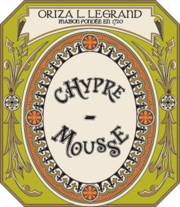 Oriza Chypre Mousse label