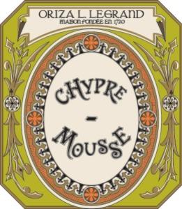 Oriza Chypre Mousse label