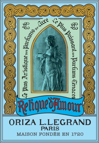 Relique d'Amour poster. Source: Oriza L. Legrand website.