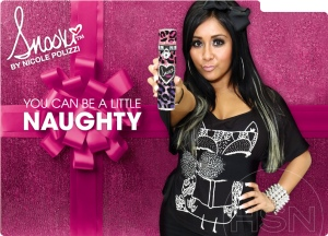 Snooki perfume ad. Source: Fragrantica.