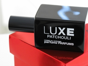 Luxe Patchouli EDP in the regular bottle. Source: Nathan Branch