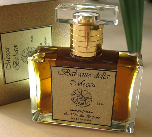 Mecca Balsam via the Profumi.it website.