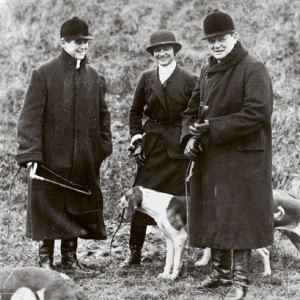 Chanel with WInston Churchill (far right) and his son. Source: betterthannylund.blogspot.com/