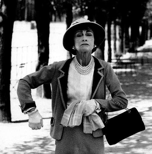 Coco Chanel, back in Paris. Source:  Source: fashionatto.literatortura.com