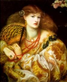 """Monna Vanna"" by Dante Gabriel Rossetti."