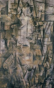 "George Braque, ""Woman Reading."" Source: pictify.com"