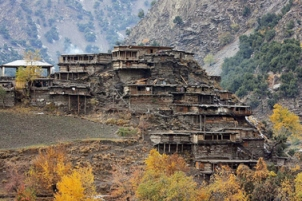 Home of the Kalash tribe in the Hindu Kush, Pakistan. Source: globalheritagefund.org
