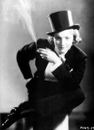 Marlene Dietrich via Pinterest.