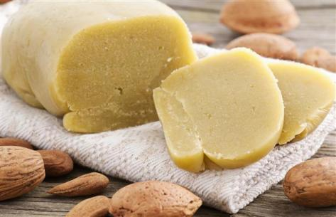 Marzipan almond paste. Source: vancouversun.com