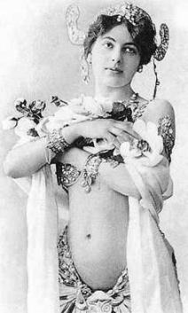 Mata Hari, 1905, via Pinterest.