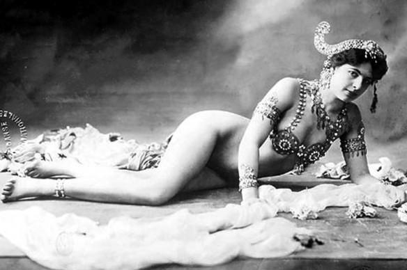 Mata Hari via Wikipedia.